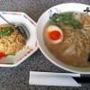 九州久留米の定番 とんこつラーメン「大龍 合川店」