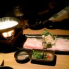 ヘルシー豆乳鍋の豚しゃぶしゃぶ「土筆んぼう 千日前店」