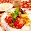 アンティーク感漂うおいしい洋食屋さん 北区『ハンプトンコート』