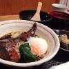 釜飯ととろ~り温泉卵の鯖煮 京都「富小路 うろこ」
