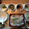 阪急32番街であっさり鯛茶漬け 大阪「ちょうつがひ」