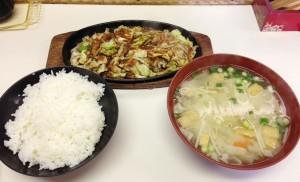 ぽんぽこ(ホルモン定食)