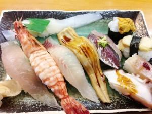 錦寿司(おまかせセット)