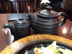 お茶漬けの茶