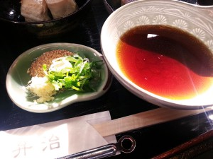 ⑦湯豆腐写真