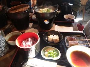 ⑤湯豆腐写真