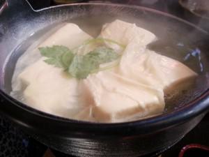 ⑥湯豆腐写真
