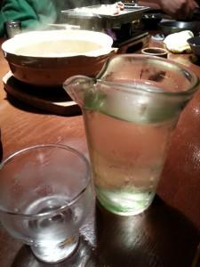 日本酒冷や