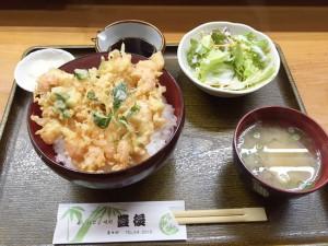 味処豊後(岬かき揚げ丼)